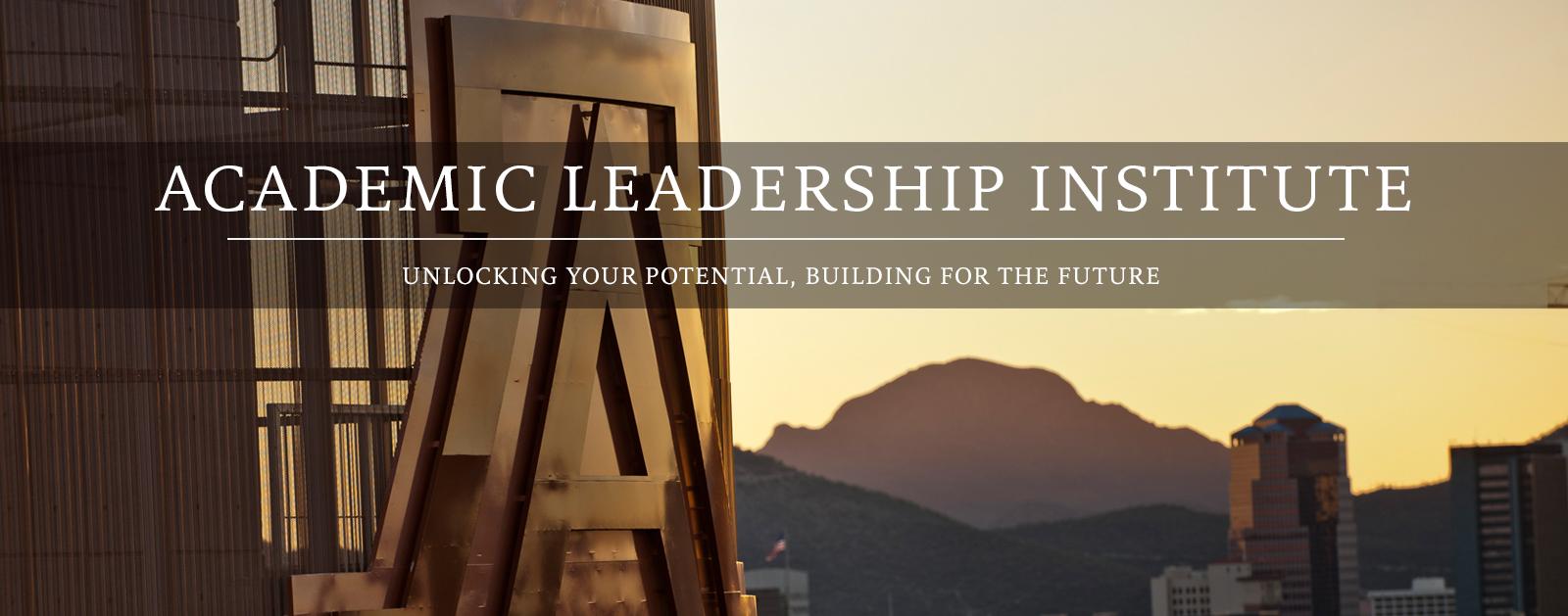 Academic Leadership Institute banner